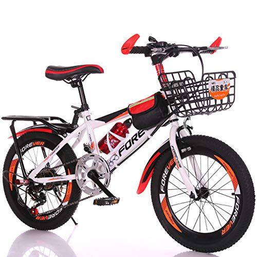 Bicicleta para Niños De 18 Pulgadas Bicicleta De Montaña para Niños De...