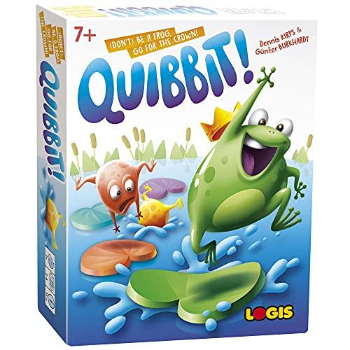 El juego de mesa Quickbit I Juega y aprende para niños, juego educativo para 2 a 5 jugadores a partir de 7 años I El juego aprende a los niños a pensar espacial, planificación inteligente