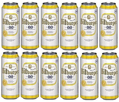 12 Dosen Bitburger Radler Alkoholfrei a...