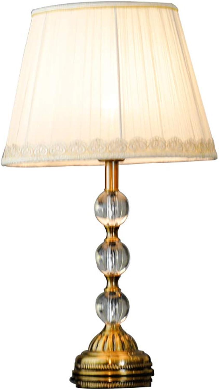 TischlampeTischlampeTischlampeTischlampeTischlampeSchlafzimmer Nacht Kristall Tischlampe, kreative moderne minimalistische Wohnzimmerlampe, Hotelzimmer Studie Tischlampe, E27TischlampeTischlampeTischl