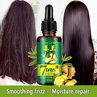 30ml 7Day Ginger Germinal Serum Essence Oil Loss Treatement Effective Fast Hair Growth Oil Enhance Hair Fiber Nutrition