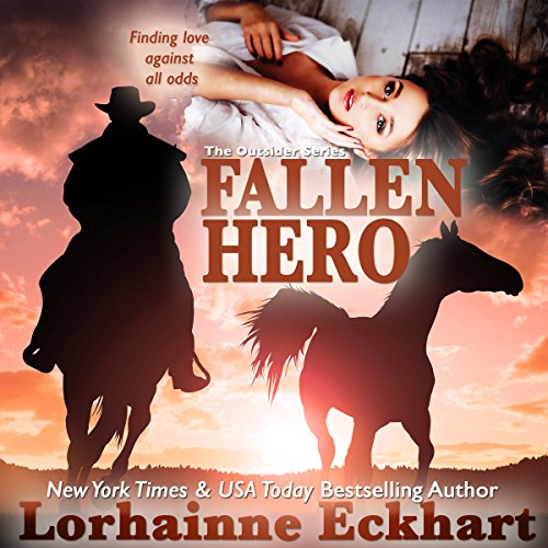Fallen Hero (The Outsider Series, Book 2)     With Exclusive Short Story: The Search               By:                                                                                                                                 Lorhainne Eckhart                               Narrated by:                                                                                                                                 Melissa Moran                      Length: 4 hrs and 27 mins     13 ratings     Overall 4.6
