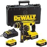 DeWALT DCH253P3 Tassellatore SDS Plus 18V XR Litio - 3 Modalità (3 batterie x 5,0Ah Li-Ion)