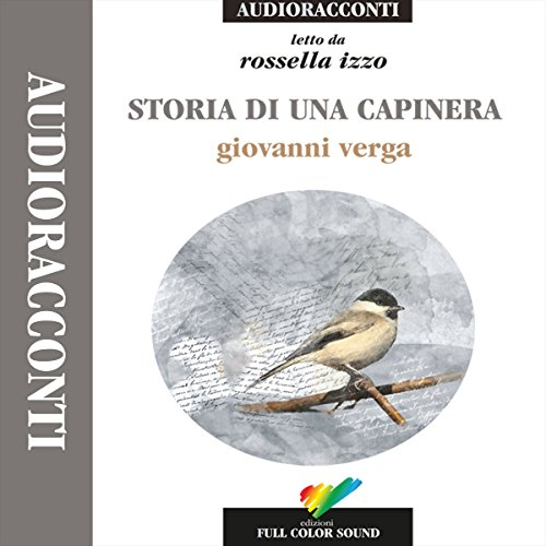 Storia di una capinera audiobook cover art