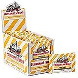 Exklusiv - Fisherman's Friend Tropical | Karton mit 24 Beuteln | Ananas Melone und Guave Geschmack | Zuckerfrei für frischen Atem -