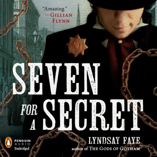 Seven for a Secret audiobook cover art