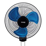 usha Colossus Rust Free Aluminium Blade 400mm Wall Fan (Blue)
