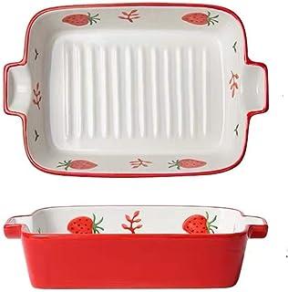 Ceramic Bakeware Rectangular Baking Dish Lasagna Pans for Cooking, Kitchen, Cake Dinner, Banquet and Daily Use