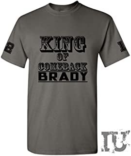 King of Comeback Brady Patriots t-Shirt