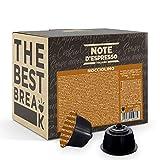 Note d'Espresso Italiano - Cápsulas de café instantáneo de avellana Compatible, con máquinas de...