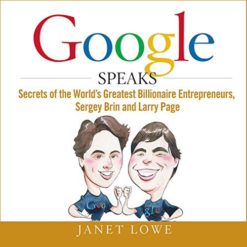 Google Speaks audiobook cover art