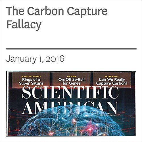 The Carbon Capture Fallacy  audiobook cover art