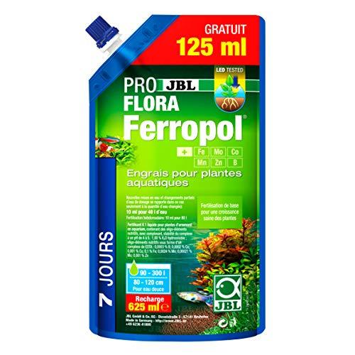 JBL Ferropol Dünger-Nachfüllpack für Wasserpflanzen, 500+ 125ml