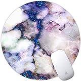 DeirCase Runde Mauspad, Cooles Büro Office Gaming Mousepad Rutschfest Mausunterlage Gummi Ränder Mauspad für Laptop & Reise,200mm*3mm