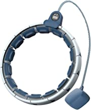 Gewichtsverlies hoelahoep met display, Magnetische therapie Slimme hoelahoep Fitness ring, Lichaam vormende cirkel, 360 ° ...