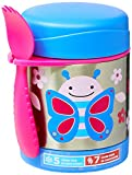 Skip Hop Insulated Food Jar: Stainless Steel Baby Food Container, Butterfly