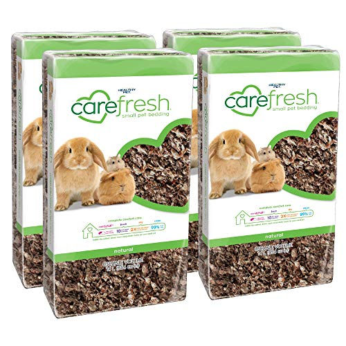 carefresh natural small pet bedding, 56L (14L ,Pack of 4)