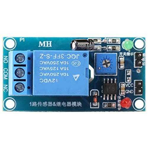 Weikeya Tierra Humedad Sensor, Umbral Higrmetro Humedad Sensor Demora Funcin con Metal Amplio Distancia