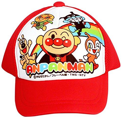 アンパンマン 帽子 サイズ:48cm カラー:レッド