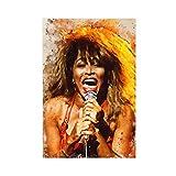 Tina Turner Leinwand Poster Schlafzimmer Dekor Sport