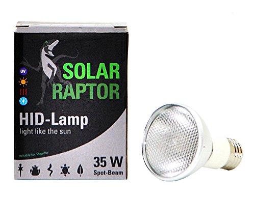 ソーラーラプター HIDランプ 35W 交換球amazon参照画像