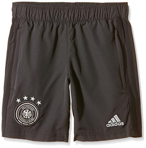adidas Kinder Trainingshorts DFB Woven Youth Web-Shorts der deutschen Nationalmannschaft in Kindergrößen., grau, 164, AC6565