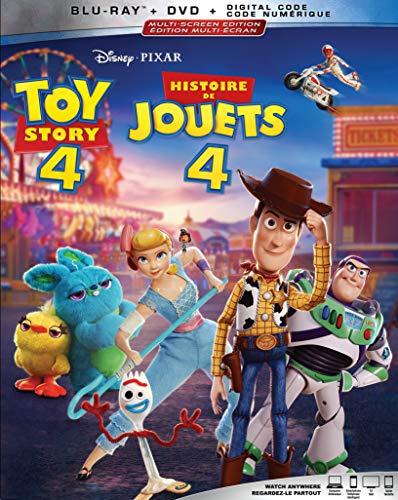 Toy Story 4 (2019) [Blu-ray + DVD + Numérique] (Bilingue) - 0