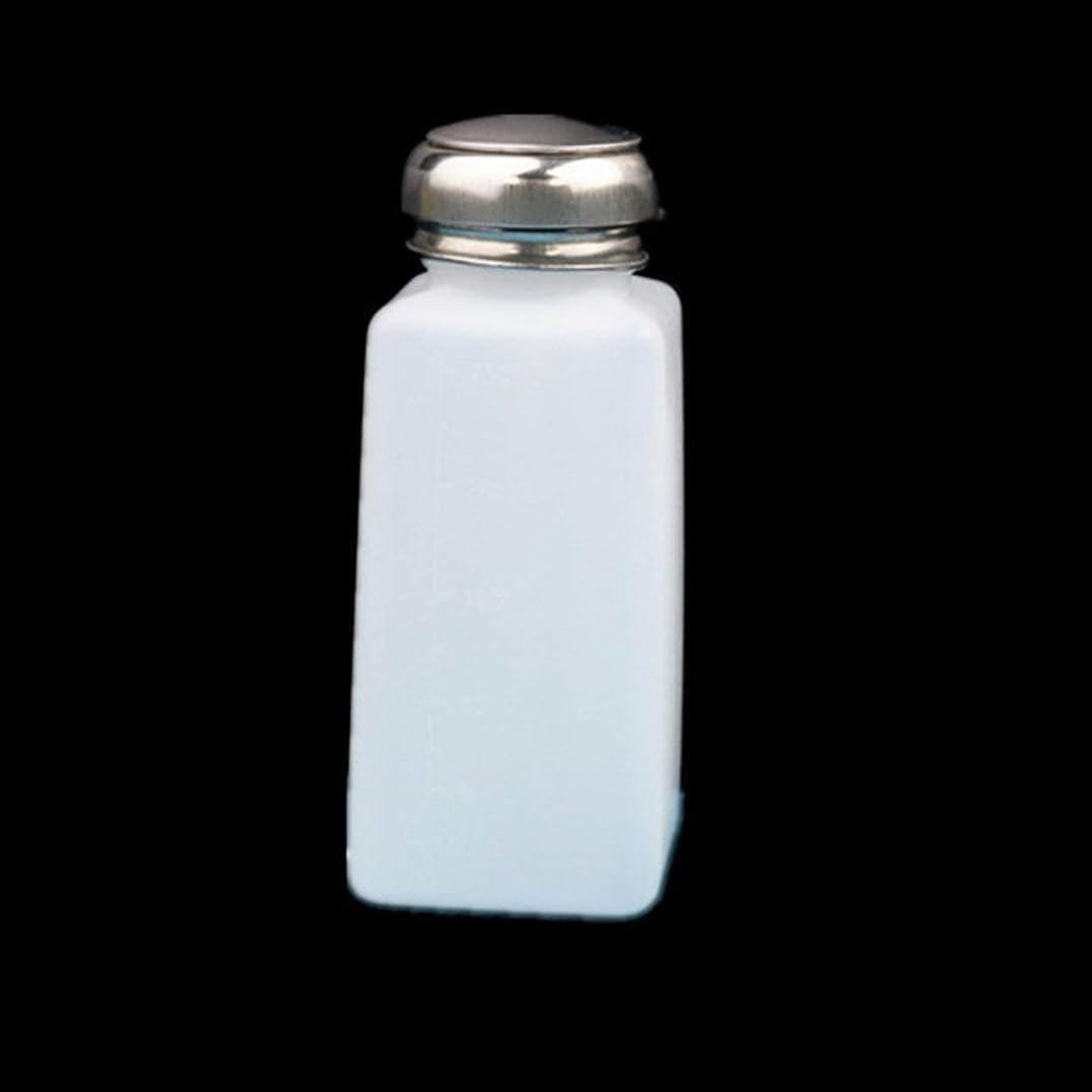 行為触覚傷跡Holarosies for 3ピース帯電防止空液体アルコールボトルアセトンメタノールプッシュダウンディスペンサーコンテナジャーオーガナイザー