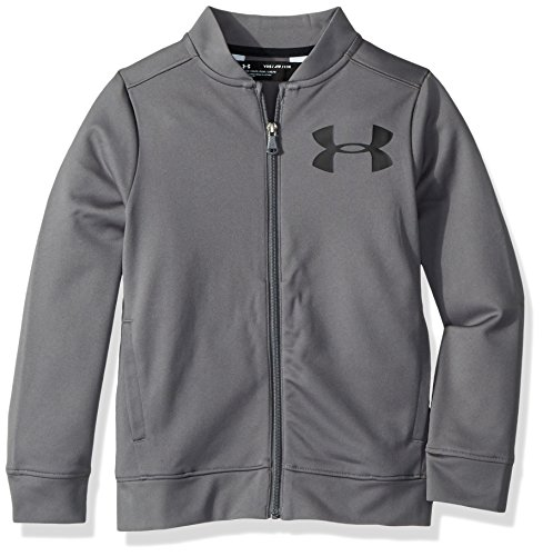 Under Armour Boys' Pennant Jacket 2.0 , Graphite (040)/Black , Youth Large