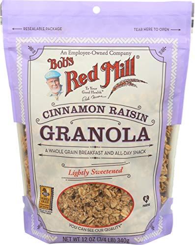 Bob's Red Mill Cinnamon Raisin Granola, 12 Oz