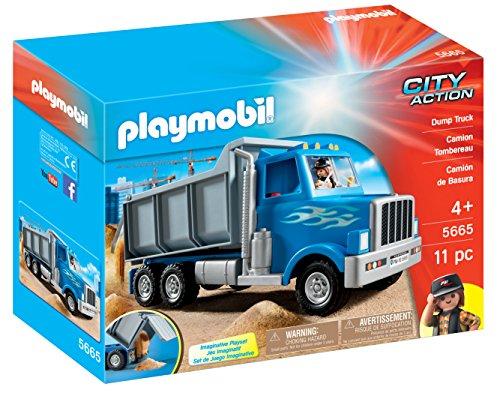 Camion à Benne Basculante Playmobil Construction - 5665 - 0