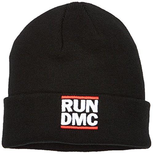 Mister Tee Run DMC Logo Beanie Black One Size