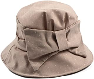 Sun Cloth Hat Holiday Beach Hat Can Be Shaped Silk Cotton Fisherman Hat Big Along The Folding Sun Hat (Color : Khaki, Size : M (56-58cm))