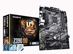 Supports 9th and 8th Intel Core processors Dual channel Non-ECC Unbuffered DDR4, 4 DIMMs New 10+2 Phases digital PWM design NVME PCIe Gen3 x4 22110 M.2 Connector Multi-way Graphics support with PCIe Armor and ultra durable design Gigabyte exclusive 8...