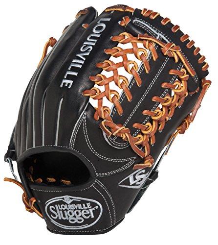 Louisville Slugger FGKTBK5 Katsu Black Fielding Glove, 11.25-Inch, Right Hand Throw