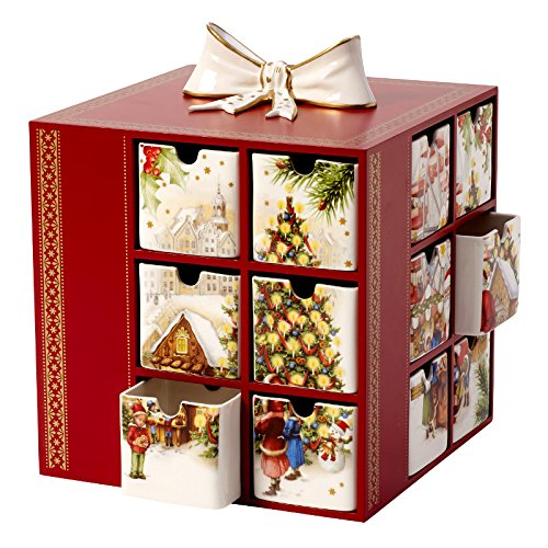 Villeroy & Boch Christmas Toys Memory Porzellan Adventskalender Markt Weihnachten