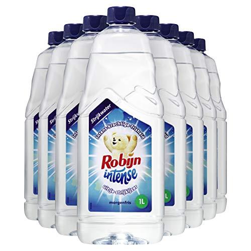 Robijn Intense Morgenfris Strijkwater 10 x 1 L Voordeelverpakking