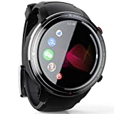4G Smart Watch Men 3GB+32GB Android 7.1 Fitness Tracker 1.39' Display Wifi Bluetooth Smartwatch Built-In Cameras Support Wechat Game