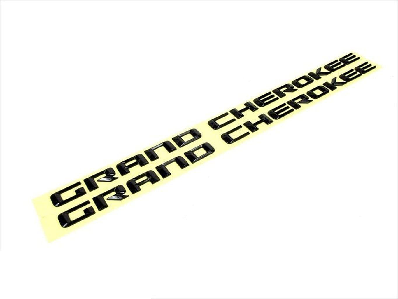 Fit for 14-16 JP Denver Mall Grand ChrkE Online limited product Bad Altitude NAMEPLATE Black Emblem