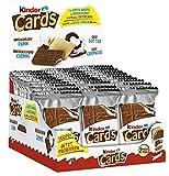 Kinder Cards T2x30 biscotti a cialda con ripieno cremoso, al latte e al cacao