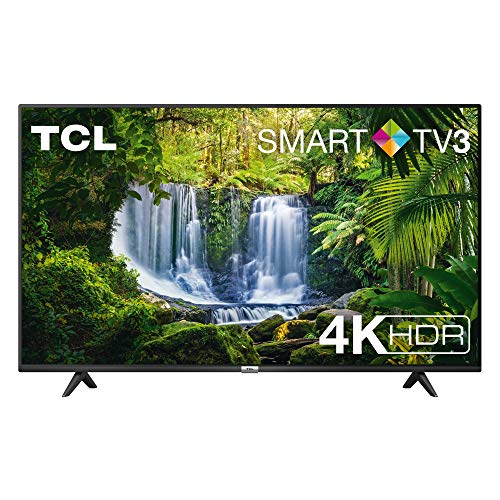 TV TCL 50P611 50 pollici, 4K HDR, Ultra HD, Smart TV 3.0 (Micro dimming PRO, Smart HDR, Dolby Audio, T-Cast),compatibile con Alexa