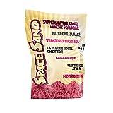 Leo & Emma Space Sand 950 Grammi, Sabbia Cinetica per Bambini Magica Colorata Modellabile Sand Giochi per Ragazzi e Ragazze, Molti Colori (Rosa)