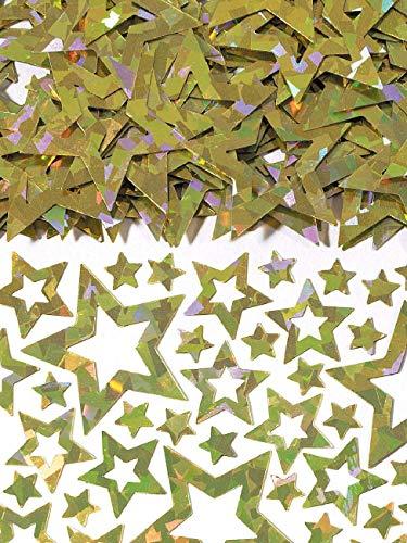 amscan Confetti - Gold Star - 14g