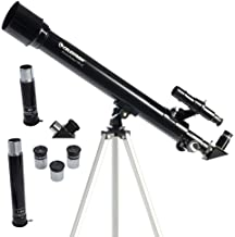Celestron - PowerSeeker 50AZ Telescope - Manual Alt-Azimuth Telescope for Beginners - Compact and Portable - BONUS Astronomy Software Package - 50mm Aperture