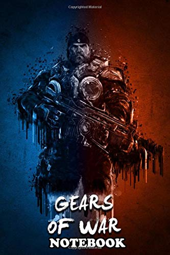 Notebook: Gears Of War , Journal for Writing, College Ruled Size 6' x 9', 110 Pages
