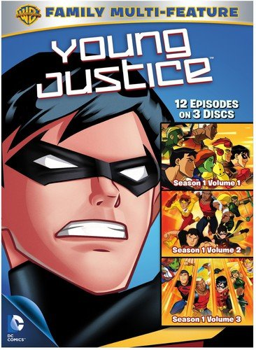 Young Justice Season 3 Pack Of Fun Repackage Dvd Buy Online In French Polynesia Warner Manufacturing Products In French Polynesia See Prices Reviews And Free Delivery Over 7 000 Fr Desertcart