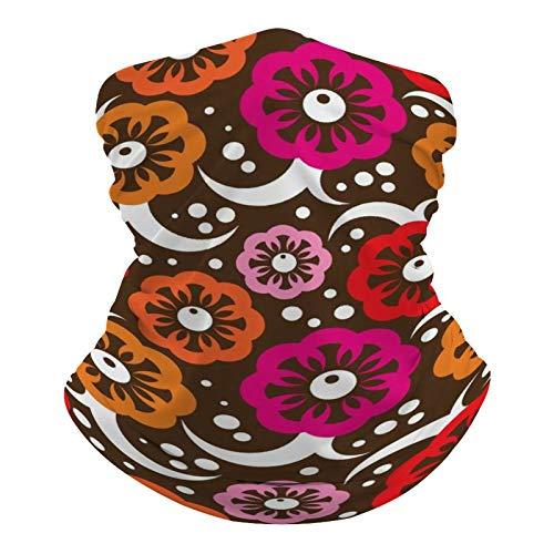 DKE&YMQ Pañuelo multifuncional unisex con patrón elástico, transpirable, para deportes, con resistencia a los rayos UV, diseño de artes visuales, color magenta, rosa y morado
