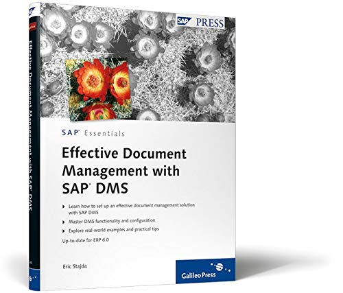 Compare Textbook Prices for Effective Document Management with SAP DMS 1 Edition ISBN 9781592292400 by Stajda, Eric