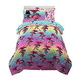 Franco Kids Bedding Super Soft Comforter and Sheet Set with Sham, 5 Piece Twin Size, Trolls World Tour