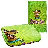 Scooby Doo Green Burst Silky Touch Super Soft Throw Blanket 36' x 58',Burst